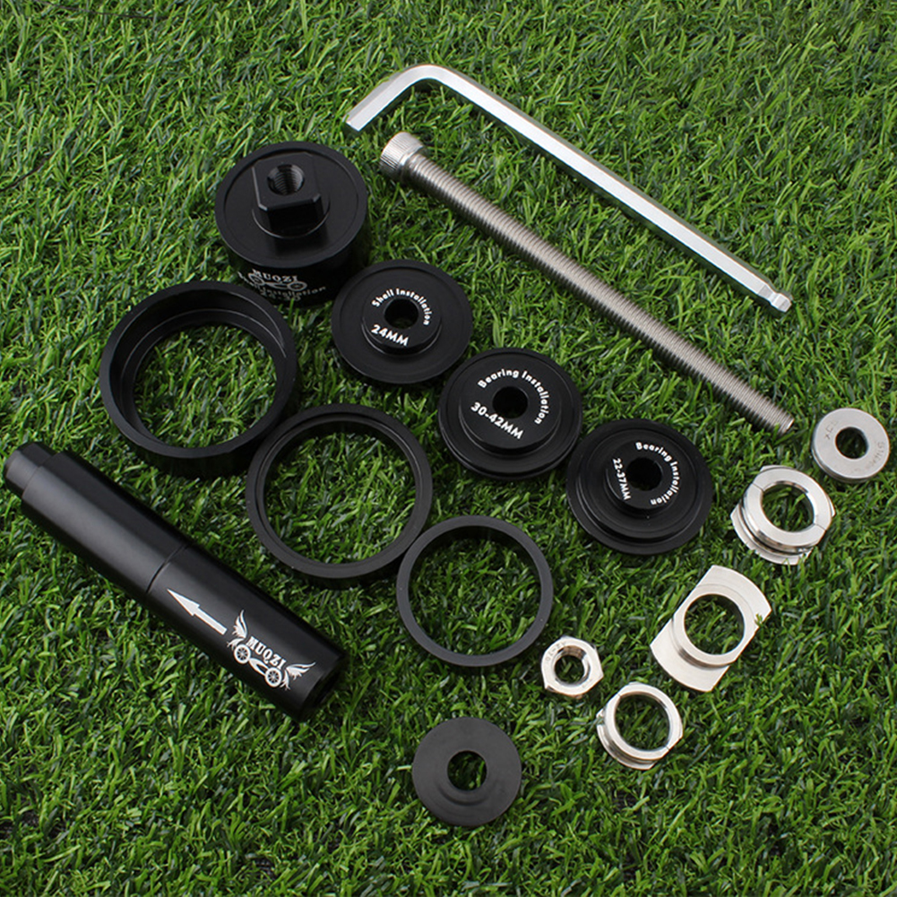 Wrench Center Shaft Practical Press In Install Bearing Bicycle Repair Easy Use Alloy Removal Tool Set Axis Assorted Disassembly