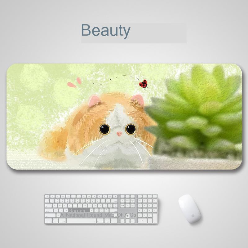 Mad Catz Anime Gaming Mouse Mause Pad large Pc Gamer Mousepad Witcher Hello Kitty Dark Souls Warcraft Skyrim Muismat desk mat in Mouse Pads from Computer Office