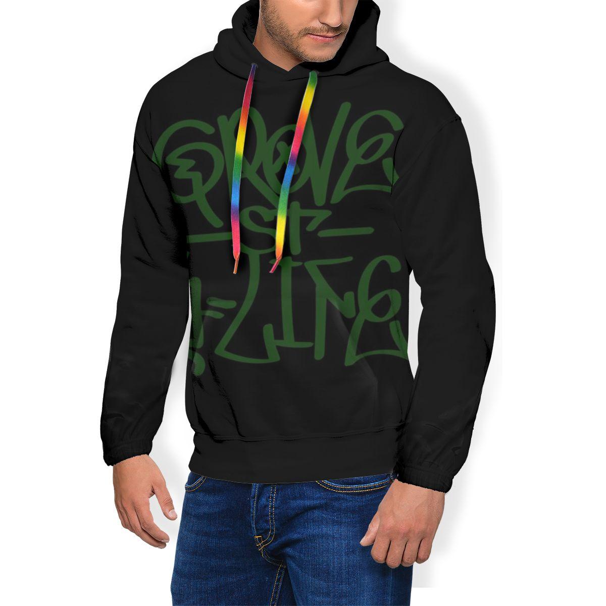 Gta San Andreas Capuche Gta San Andreas Hoodies Streetwear Long pull à capuche Automne Polyester XXL Sweat À Capuche