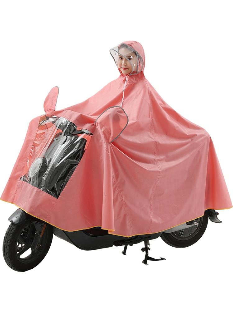 Motorcycle Scooter Raincoat Pants Set Outdoors Men Raincoat Waterproof Thick Impermeable Chubasquero Hombre Rain Gear OO50YY