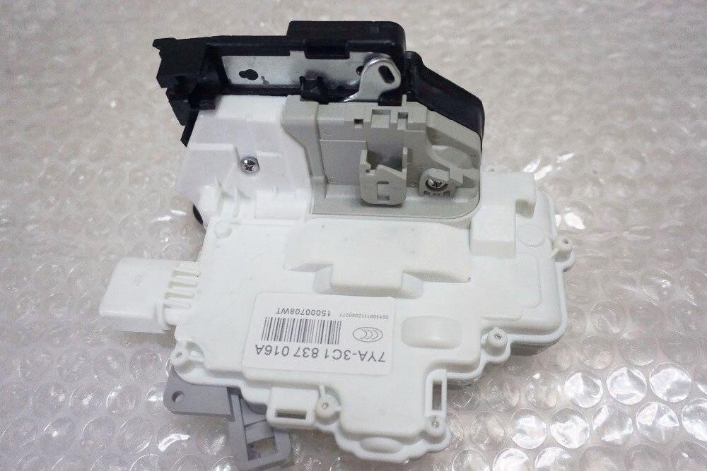 Бесплатная доставка передний правый центральный привод защелки дверного замка 3C1837016a для VW PASSAT B6 SKODA SUPERB A4 A5 Q5 Q7 TT
