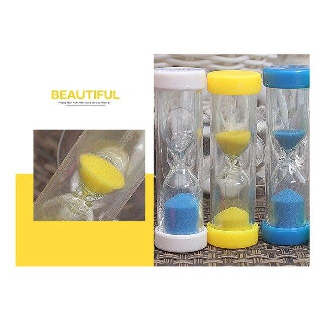 Klepsydra 3 minuty Mini klepsydra z piaskiem dekoracyjna klepsydra 3 minuty odliczanie wykwintne drobne upominki do kuchni ubikacja lustro
