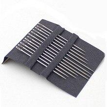Бытовые чистящие средства для штопки иглы для шитья; многоразмерные х боковое отверстие 12 шт набор ручных Нержавеющая сталь