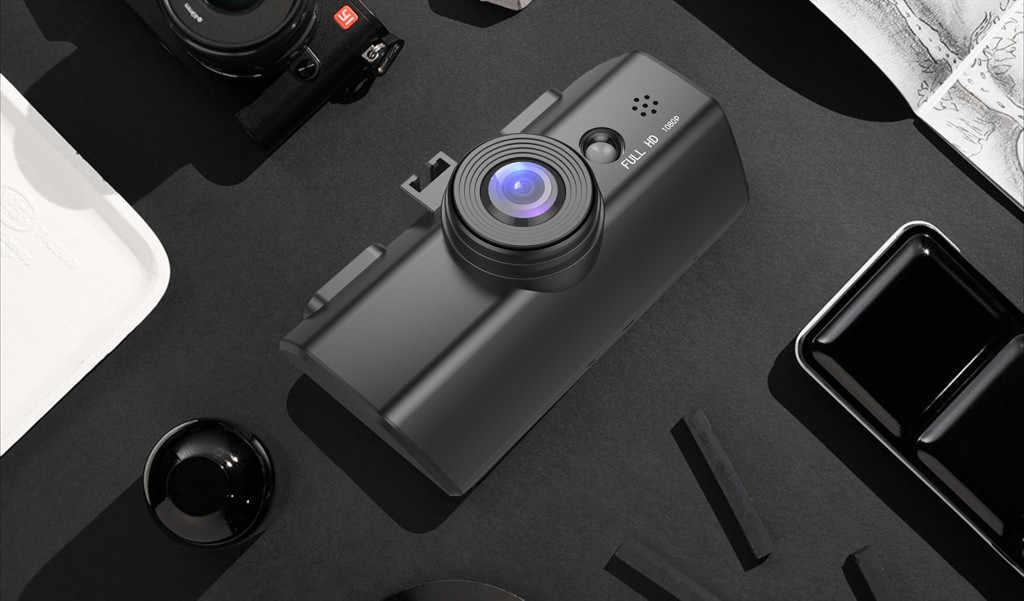 Dispositivos wearable hd 1080 p carro dvr veículo câmera gravador de vídeo traço cam visão noturna 1.7 polegada dropshipping #40