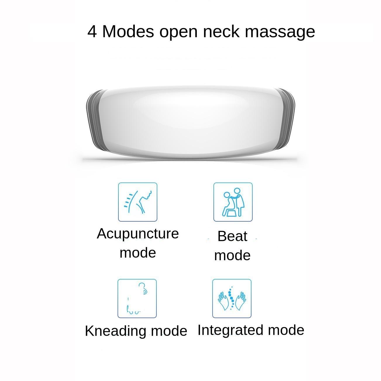 Controle de voz inteligente dezenas cervical massagem