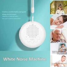 Máquina de ruído branco para o sono do bebê recém-nascido infantil som sono relaxante com 10 opções de som naturais para o bebê crianças escritório em casa