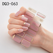 Nail-Stickers Wraps Nail-Art-Decoration-Accessories Full-Cover Waterproof New-Arrival