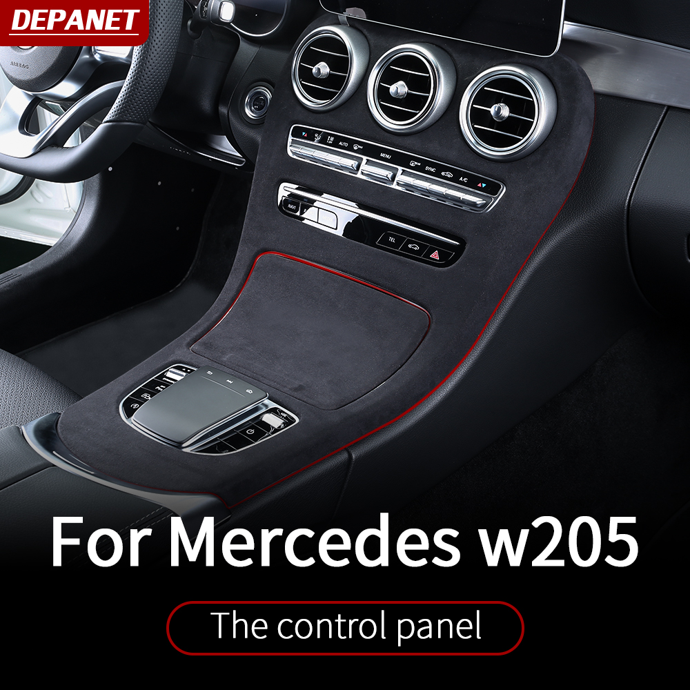 Central control panel For 2019+ <font><b>Mercedes</b></font> <font><b>w205</b></font> amg coupe / interior trim c63 <font><b>mercedes</b></font> c class accessories <font><b>w205</b></font> <font><b>Mercedes</b></font> amg coupe image