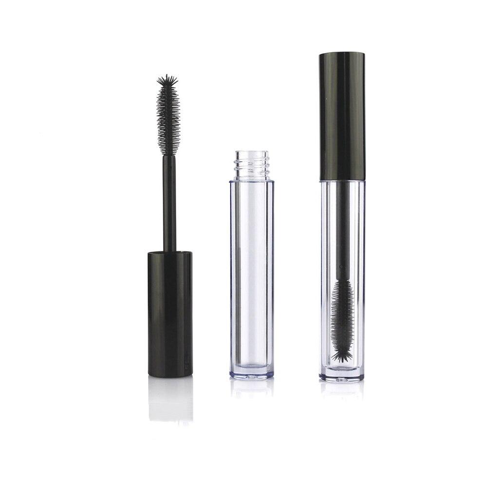 10mL Beauty Portable Empty Mascara Tube Eyelash Vial Cosmetic Container Makeup  Black Cap Refillable Bottles 1pc