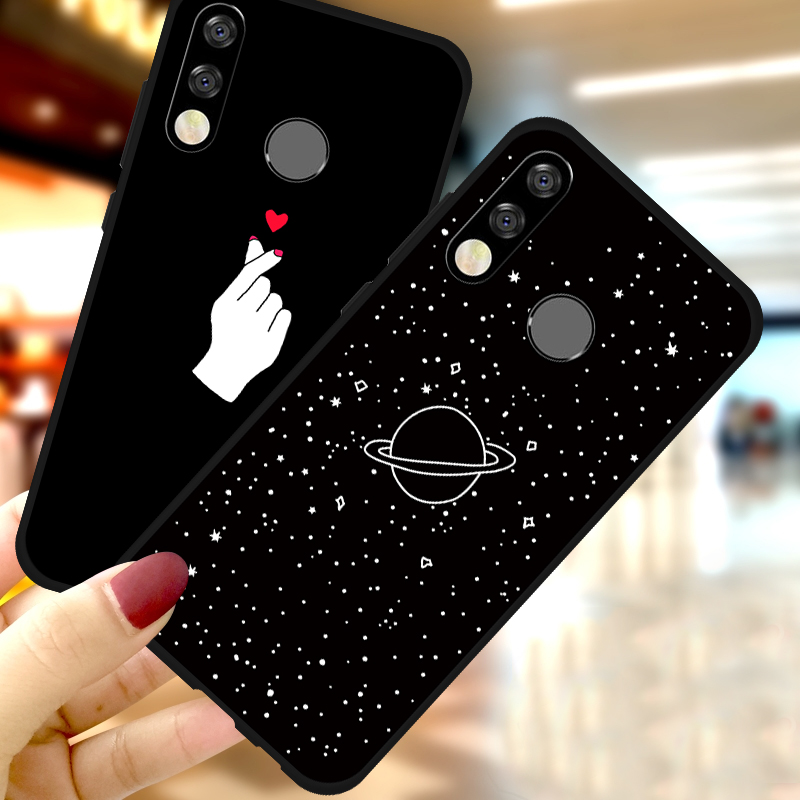 For <font><b>Huawei</b></font> <font><b>Honor</b></font> 9X Pro 8X Max 8C Note 10 9 8 Lite 7X 20 Pro 8S 8C Cute Cover <font><b>Case</b></font> For <font><b>Huawei</b></font> <font><b>Honor</b></font> 9X 10i <font><b>20i</b></font> 20 Pro Coque Capa image