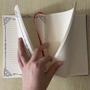 Image 4 - Caderno mágico de animes sakura cerberus, padrão de estrela de palhaço, livro de diário para presente para amigos