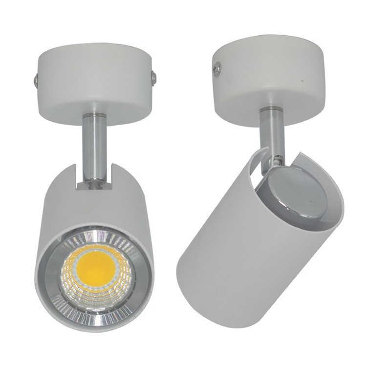 360 درجة تدوير نظام تعليق في السقف بقعة ضوء مع 6 واط GU10 لمبة استبدال LED أسفل ضوء للمطبخ غرفة المعيشة التلفزيون