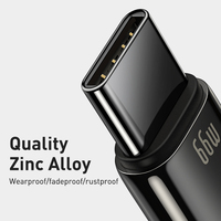 Baseus 6A USB Type C Cable for Xiaomi Samsung Huawei P40 Pro Mate 40 30 Supercharge 66W/40W Fast Charger USB C Cable for Oppo Vivo