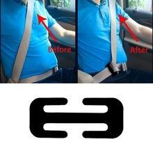 38 MM/52 MILLIMETRI Regolatore Cintura di sicurezza Dellautomobile del Metallo di Sicurezza Automotive Clip di Bloccaggio Della Cinghia Della Cinghia Morsetto Fibbia Spalla Per I Bambini di età