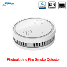 CPVan ES63-A5 Smoke Detector EN14604 Listed CE Certified Sensor Detector Smoke Sensor Wireless Fire Sensor for Home Security
