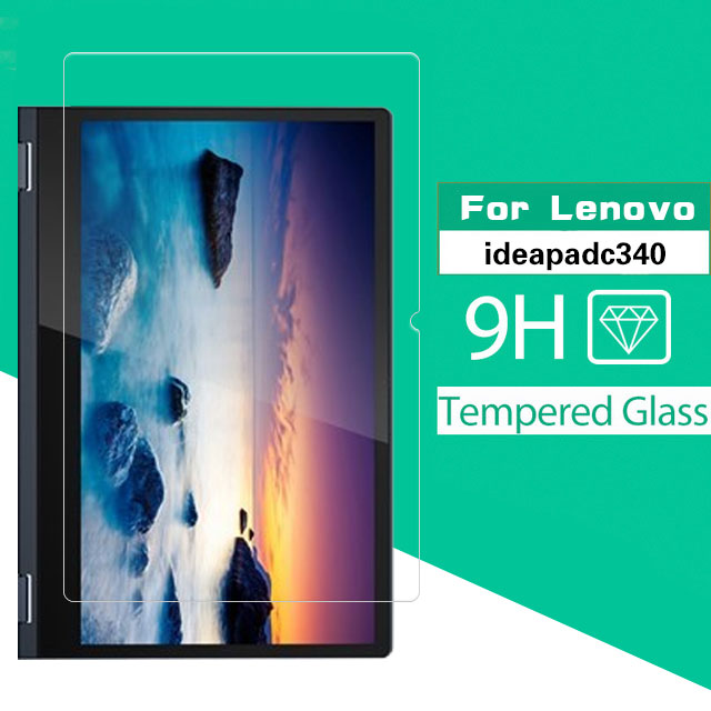 Premium Explosion Proof Tempered Glass Film For Lenovo Ideapad C340 14'' 15.6'' Tablet Glass Screen Protector Front Cover