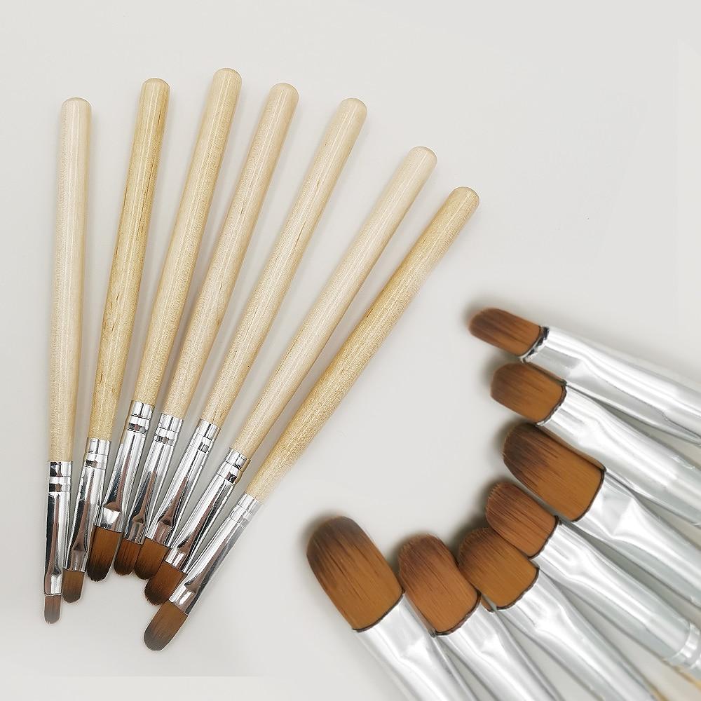 7 шт., ручка для маникюра, акриловый клей для фототерапии Комплекты и наборы      АлиЭкспресс