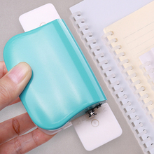 Paper Cutter T-type Puncher Craft Machine Offices Stationery DIY Loose Leaf Hole Punch Handmade Loose-leaf