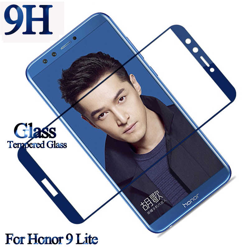 9H Tempered Glass For Huawei Honor 9 Lite Protective Glass For Honor 10 8 Lite  9Lite 8Lite 10Lite Glass Screen Protector Film