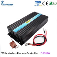 Max 4000 Watts 2000W Power Inverter DC 12 V to AC 220 Volt Car Adapter Charge Converter Pure Sine Wave Transformer