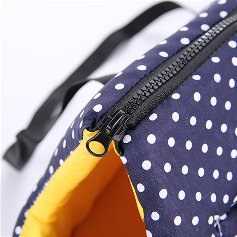 Soft Pet Carrier Bag with Wide Strap and Zipper for Large Puppies and Medium Size of Dog 4