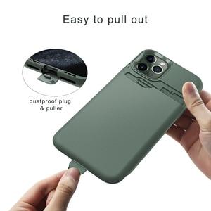 Image 3 - Чехол для iPhone 11, защитный чехол бумажник с отделениями для карт для iPhone 11 Pro Max, деловой жесткий ударопрочный чехол из ТПУ с краями