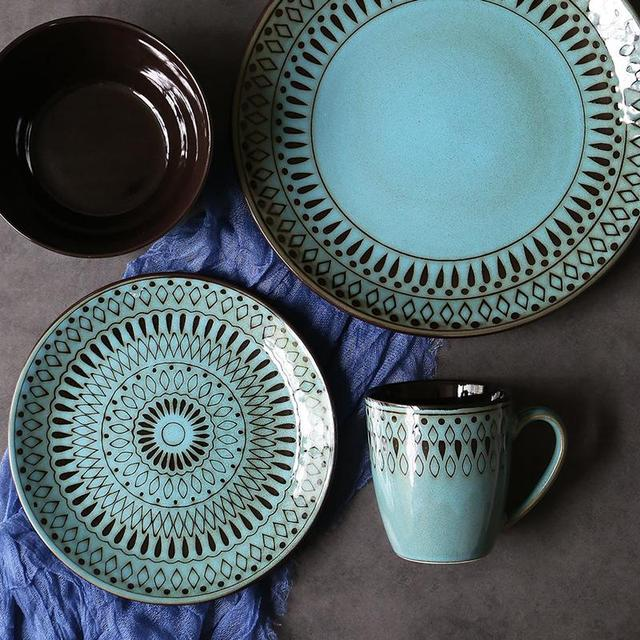 Green Ceramic Tableware