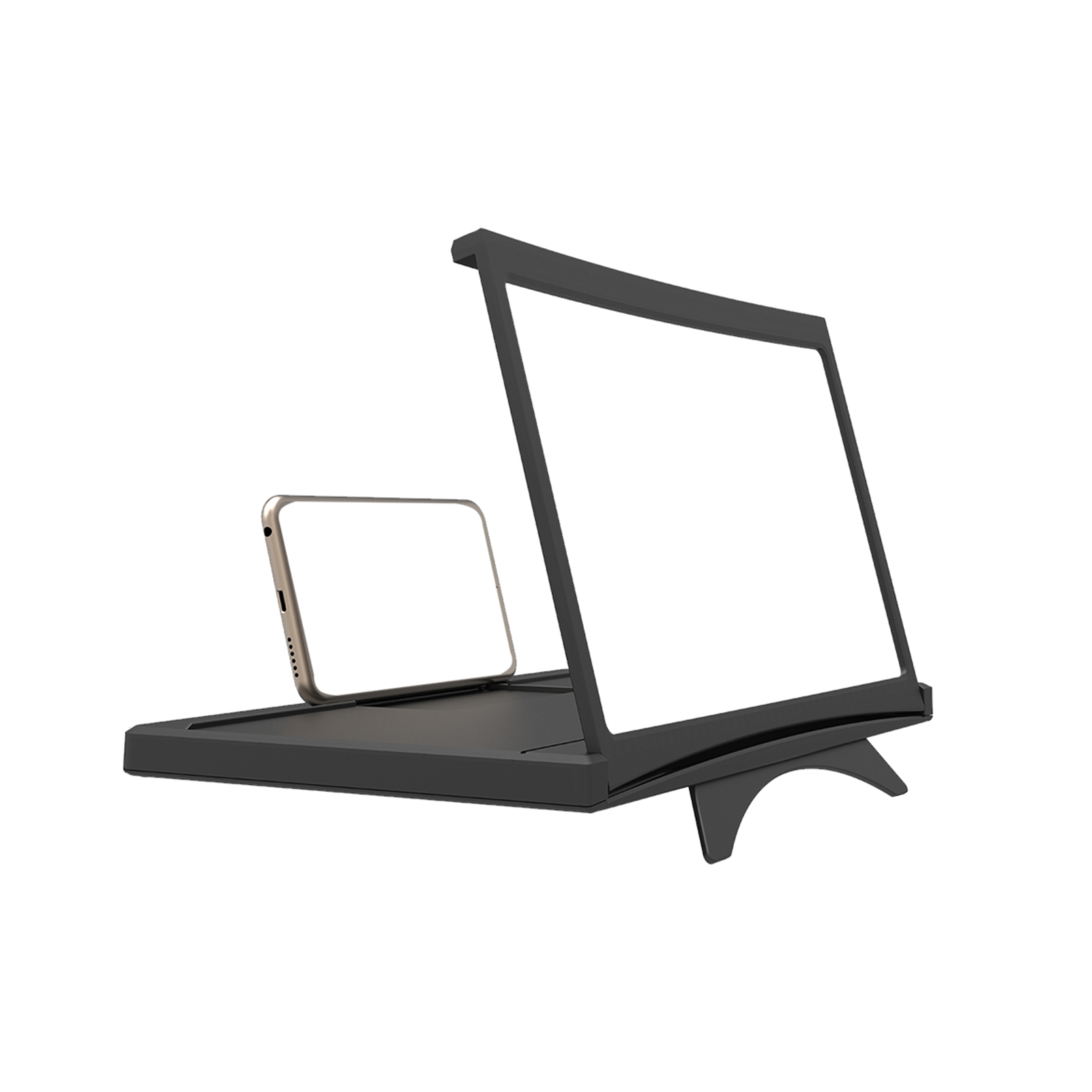 3D Screen Amplifier Mobile Phone Screen Video Magnifier For Cell Phone Smartphone Enlarged Screen Phone Stand Bracket
