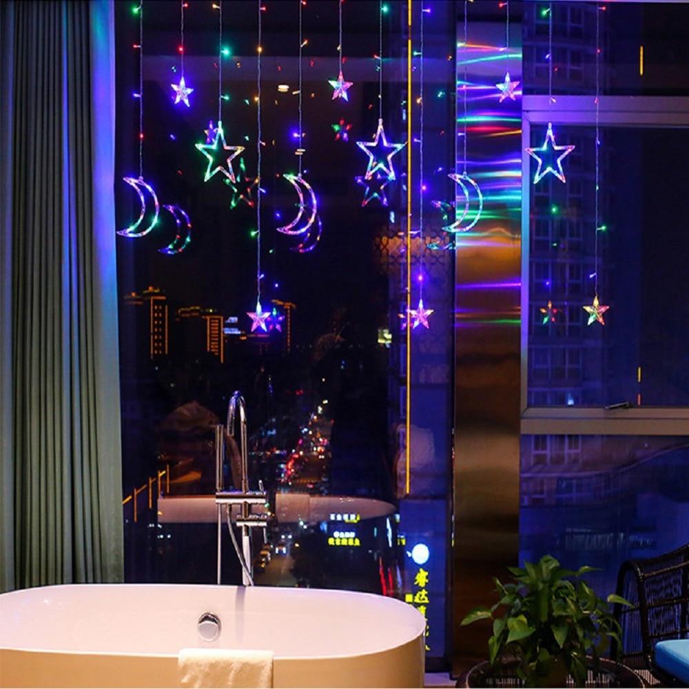 cheapest Solar LED Meteor Shower Rain Lights Holiday String Lights Waterproof Garden Light 8 Tubes 144 Leds  Christmas Wedding Decoration