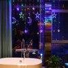 EU US UK Plug LED Moon Star Lamp Christmas Garland String Lights  Fairy Curtain Light For Wedding Holiday Garden Decoration discount