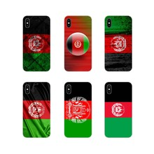 For Apple iPhone X XR XS 11Pro MAX 4S 5S 5C SE 6S 7 8 Plus ipod touch 5 6 Afghanistan Flag Accessories Phone Cases Covers(China)