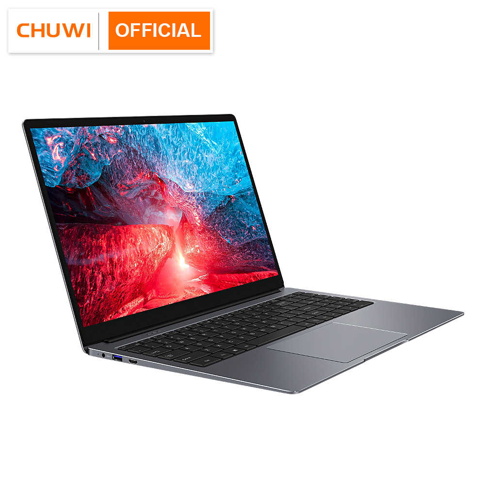 CHUWI Lapbook Plus 15.6 Inch HDR 4K Layar Intel X7 Quad Core Windows 10 OS 8GB 256GB SSD Slim Laptop dengan Backlit Keyboard