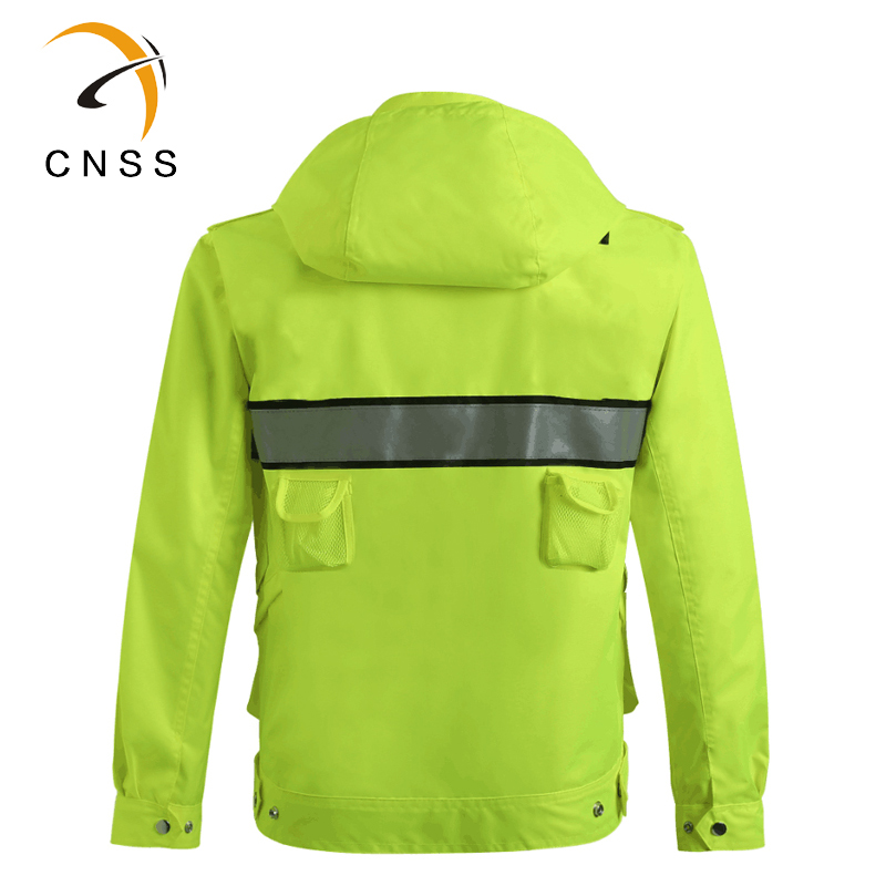 Safety Reflective Jacket Windproof Waterproof Cycling Jacket Bike Bicicleta Motocross Windcoat Long sleeve Cycling Raincoat