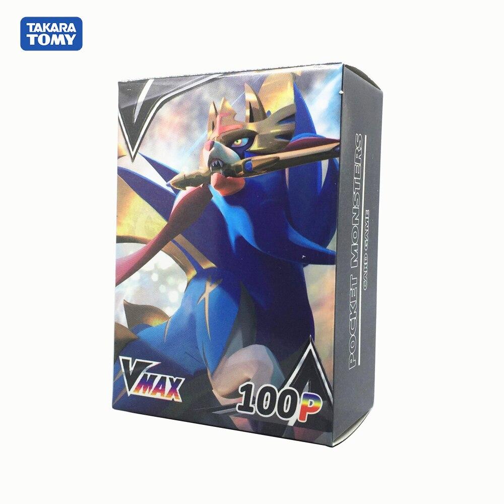 New Pokemon No Repeat Sun Moon Sword&Shield VMAX Zacian Zamazenta Shining Card Battle Trading Carte Game Children Toys For Kids