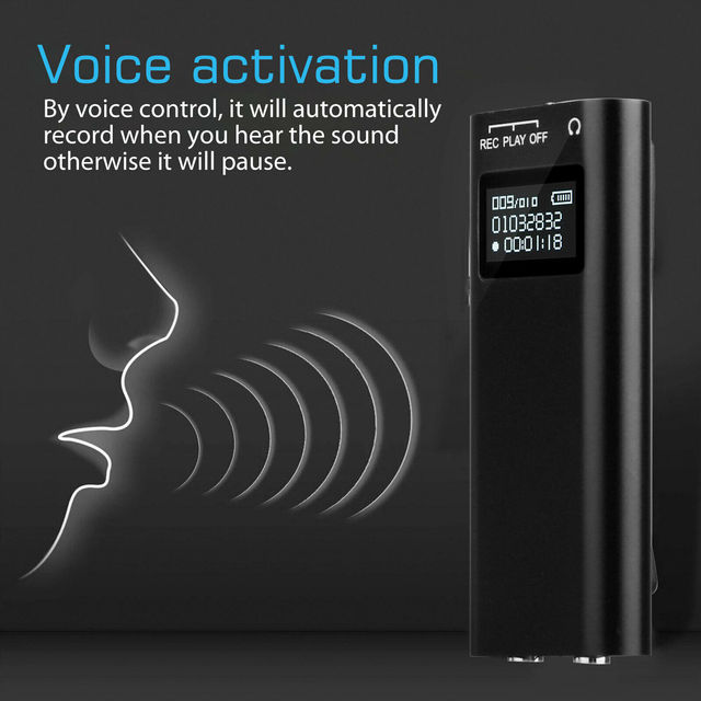 8GB Recording Sound Audio Activated Device for University Office 4