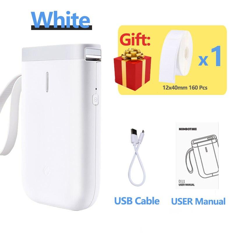 Популярный беспроводной принтер для этикеток портативный карманный принтер для этикеток Bluetooth Термопринтер для этикеток быстрая печать дл...