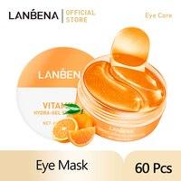 LANBENA Auge Maske Kollagen Augenklappe Hautpflege Hyaluronsäure AcidGel Feuchtigkeitsspendende Retinol Anti Aging Augen Bag Drop Verschiffen