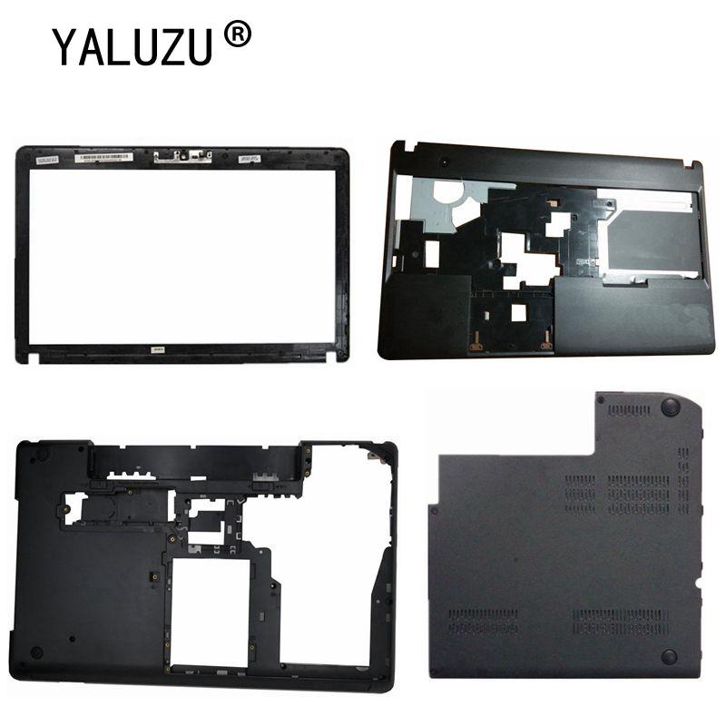 YALUZU New Lenovo ThinkPad E530 E535 E530C E545 LCD screen Palmrest  Bottom  Hard Drive case Cover BCDE shell