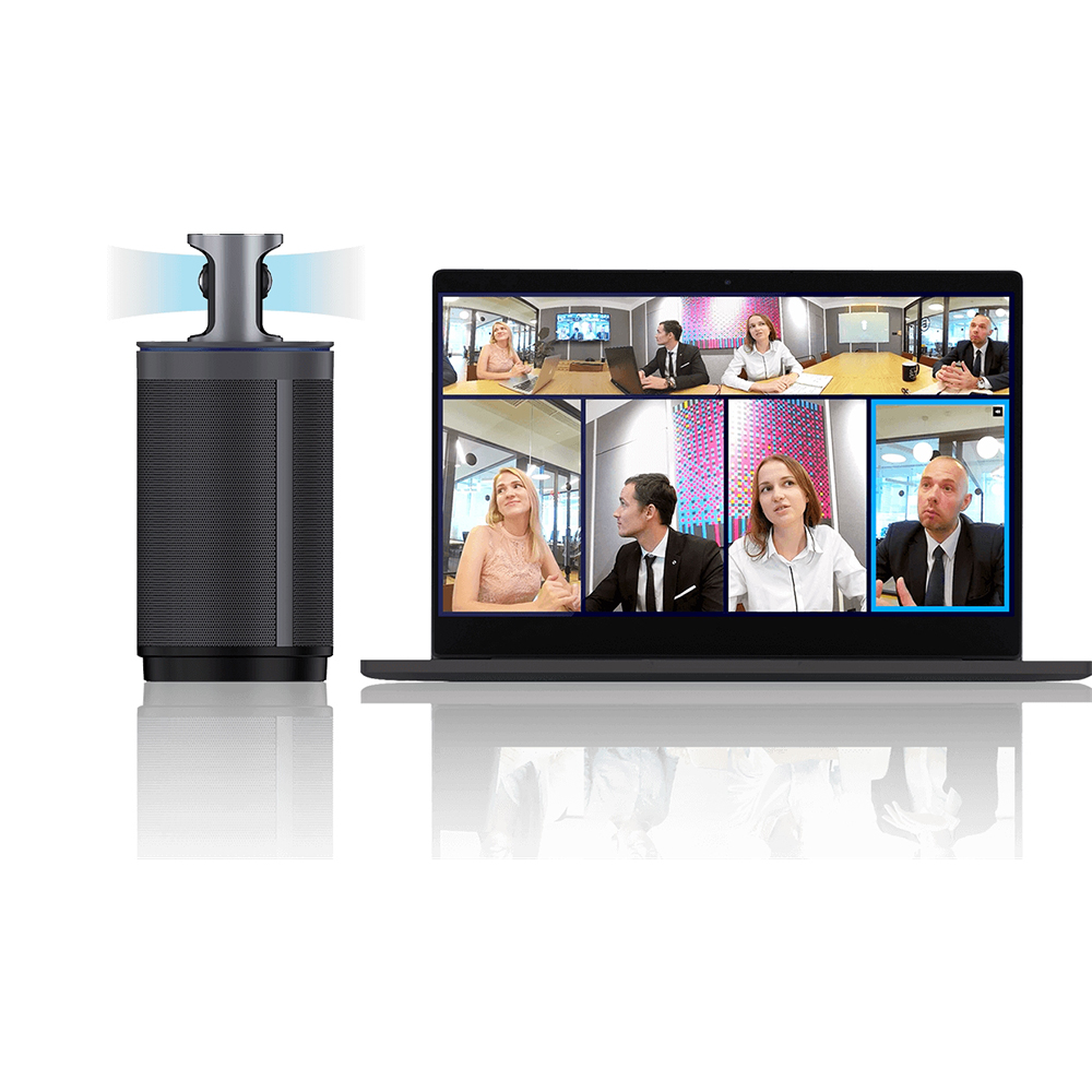 KanDao 360 All-in-one Conferencing Camera Meeting Smarter Intelligent Tracking & Auto-focus Omni-directional Mics