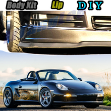 Spoiler Car-Modified-Body-Kit Tune Porsche Boxster Skirt Car-Bumper Front Lip Deflector