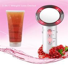 Ultrasonic Cavitation Machine Anti Cellulite Galvanic Spa EMS Photon Fat Burner Weight Loss Facial Body lifting Care Drop Ship