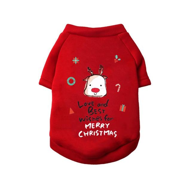 Extra Cute Christmas Puppy Wear  6