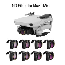 4pcs ND Lens Filters for DJI Mavic Mini ND 4 8 16 32 PL Set Filter Polarizer Drone Camera Filters for DJI Mavic Mini Accessories