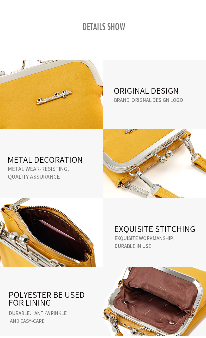 Hb0c574efc46a427ba52b441f83edfb84C - New Colorful Small Cellphone Bag Female Fashion Daily Use Shoulder Bags Women Leather Mini Crossbody Messenger Bag Ladies Purse