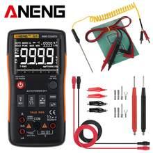 Aneng q1 multímetro digital 9999 analógico testador rms verdadeiro profissional multimetro diy transistor capacitor ncv testadores lcr medidor