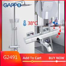GAPPO mitigeur thermostatique, système de douche, robinet à cascade thermostat robinet de douche