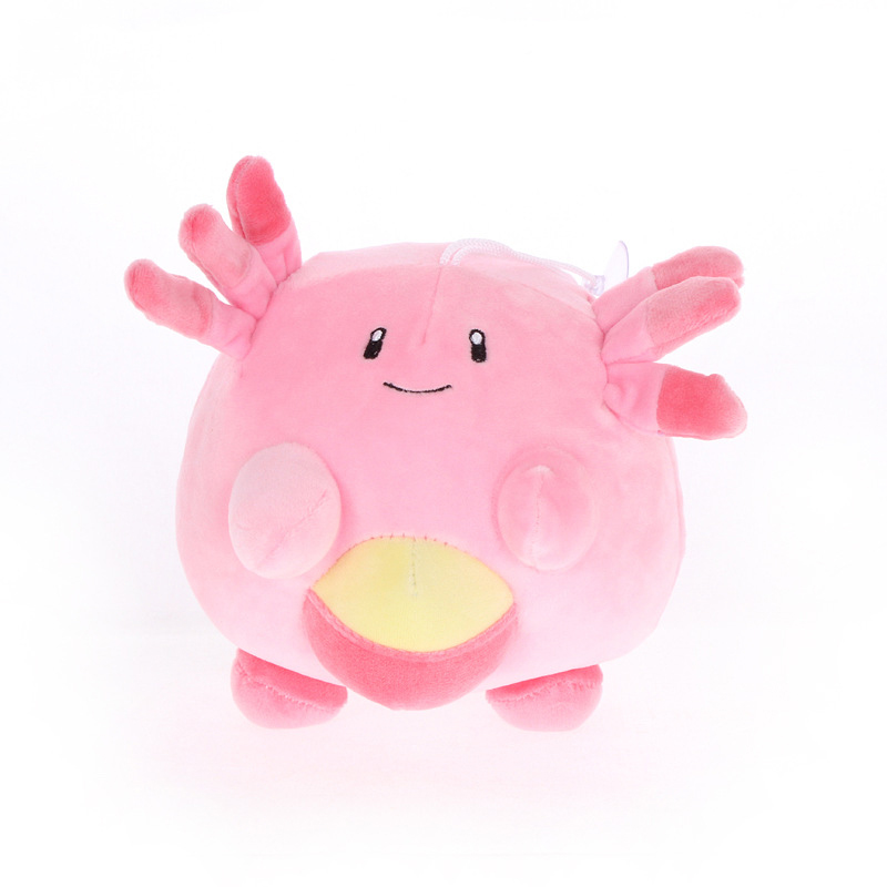 1pcs 16cm Chansey Plush Toys Doll Pendant Clip Clefairy Soft Stuffed Plush Doll Peluches Gifts For Children Kids