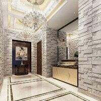 Neue DIY Home Decor PVC Holzmaserung Wand aufkleber Ziegel Stein Tapete Selbst-Adhesive Wohnzimmer Schlafzimmer 3D Tapeten dekoration