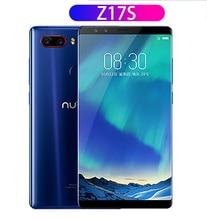 Nubia Z17S الهاتف الأصلي 5.73 بوصة ZTE Nubia Z17 S الهاتف المحمول مع 4 كاميرات 2040x1080 كامل الشاشة كور رباعية سناب دراجون 835