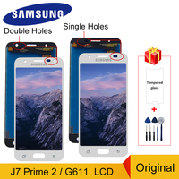 Original para samsung galaxy j7 prime 2 j7 prime 2018 g611 SM-G611 g611f g611m display lcd de toque digitador da tela montagem peças